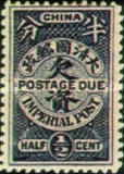 [Postage-Due Stamps of the Ching Dynasty, Typ B]