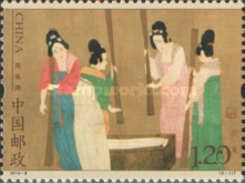[Paintings - Court Ladies Preparing Newly Woven Silk, type FKS]