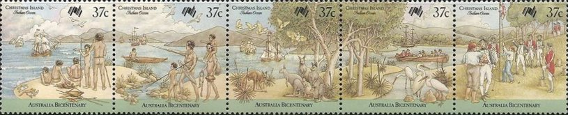 [Ships - The 200th Anniversary of the Australian Settlement - Arrival of the First Fleet, type ]