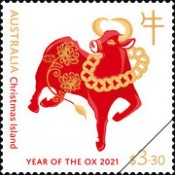 [Chinese New Year - Year of the Ox, type AGX]