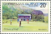 [The 25th Anniversary of the Christmas Island Golf Club, type DB]