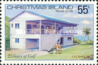 [The 25th Anniversary of the Christmas Island Golf Club, type DC]
