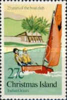 [The 25th Anniversary of the Christmas Island Boat Club, type FA]
