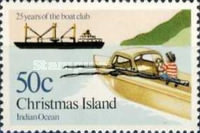 [The 25th Anniversary of the Christmas Island Boat Club, type FC]
