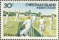 [The 25th Anniversary of Cricket on Christmas Island, type FT]