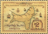 [The 350th Anniversary of the Naming of Christmas Island, type NL]