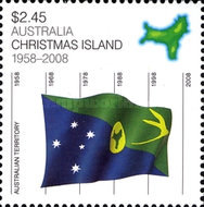 [Christmas Island - 50th Anniversary as a Territory, type XE]