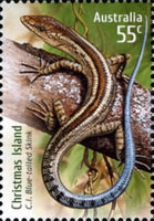 [Species at Risk - Joint Territories Issue - Blue-tailed Skink, type XV]