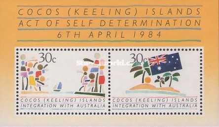 [Integration of Cocos Islands with Australia, type ]