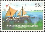 [The 75th Anniversary of the Cocos Barrel Mail, type DL]