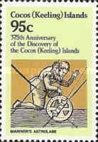 [The 375th Anniversary of the Discovery of Cocos Islands, type DQ]
