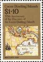 [The 375th Anniversary of the Discovery of Cocos Islands, type DR]