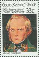 [The 150th Anniversary of Charles Darwin's Visit, type FD]