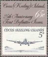 [The 25th Anniversary of the First Cocos Islands Stamps, type GL]