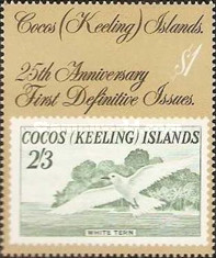 [The 25th Anniversary of the First Cocos Islands Stamps, type GO]