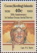 [The 50th Anniversary of the First Indian Ocean Aerial Survey, type HE]