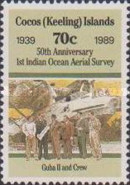 [The 50th Anniversary of the First Indian Ocean Aerial Survey, type HF]