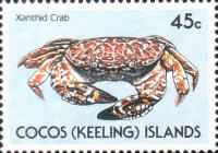 [Cocos Islands Crabs, type HP]