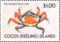 [Cocos Islands Crabs, type HR]