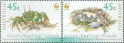[Endangered Species - Crabs of Cocos Islands, type OM]