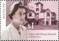 [The 50th Anniversary of the Royal Tour to Australia - Visit of Queen Elizabeth II to Cocos Island, type PB]