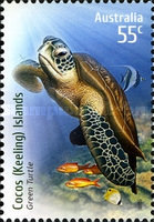 [Species at Risk - Joint Territories Issue - Green Turtle, type QN]
