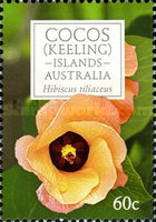 [Flowers of Cocos Islands, type QP]