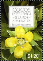 [Flowers of Cocos Islands, type QQ]