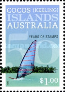 [The 50th Anniversary of the First Postage Stamps, type SA]