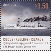 [The 100th Anniversary of the Sydney/Emden Engagement, type SK]