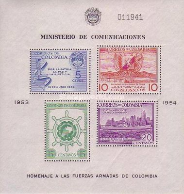 [Greater Colombia Merchant Marine Commemoration, Typ ]
