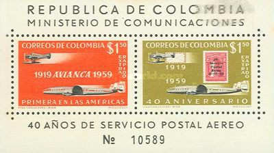 [Airmail - The 40th Anniversary of Colombian