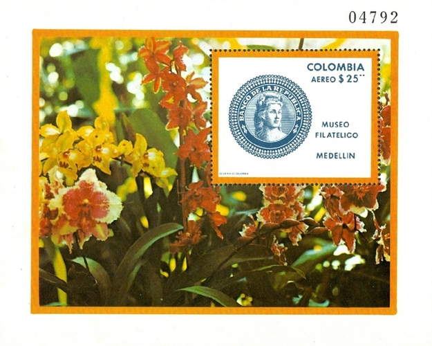 [Airmail - Opening of Philatelic Museum, Medellin, Typ ]