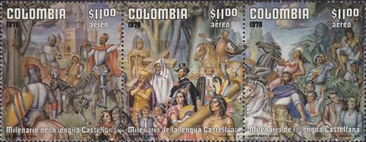 [Airmail - The 1000th Anniversary of Castilian Language, Typ ]
