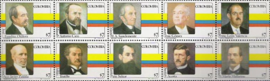 [Presidents of Colombia, Typ ]