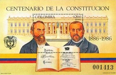 [Airmail - The 100th Anniversary of Constitution, Typ ]