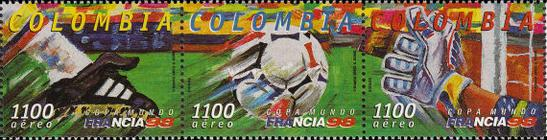 [Airmail - Football World Cup - France, Typ ]