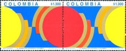 [The 70th Anniversary of Japanese Emigration to Colombia, Typ ]