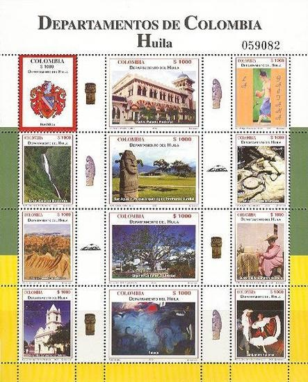 [Colombian Departments - Huila, Typ ]