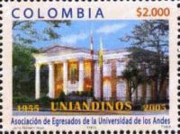 [The 50th Anniversary of the University of the Andes Alumni Association, Uniandinos, Bogota, Typ ]