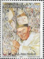 [The 20th Anniversary of Pope John Paul II's Trip to Colombia, Typ ]