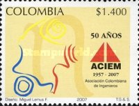 [The 50th Anniversary of Colombian Engineering Association ACIEM, Typ ]