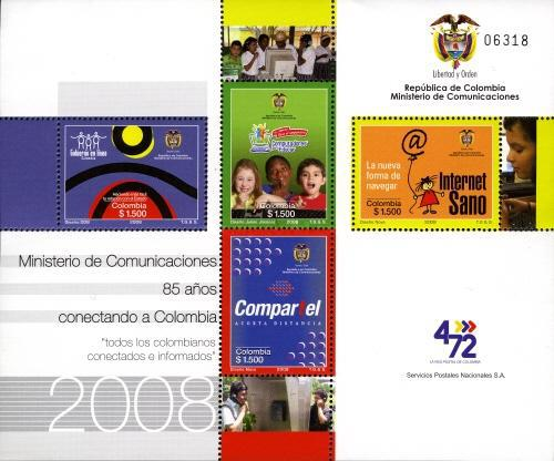 [The 85th Anniversary of Ministry of Communication, Typ ]