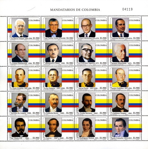 [State Leaders of Colombia, Typ ]