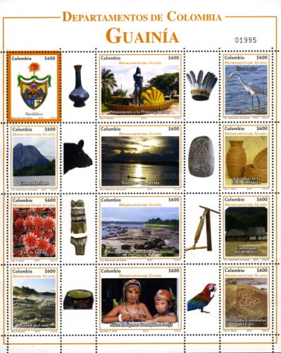 [Departments of Colombia - Guainia, type ]