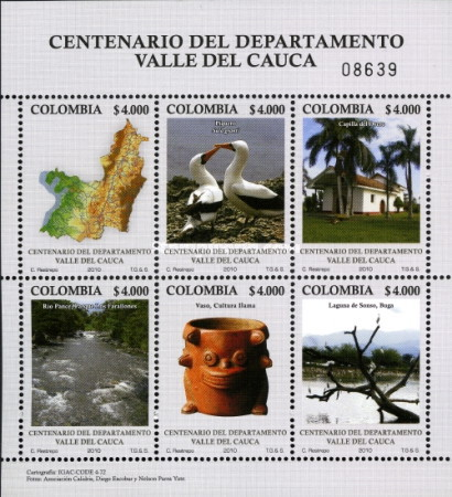 [The 100th Anniversary of the District of Valle del Cauca, type ]