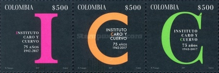 [The 75th Anniversary of the Caro and Cuervo Institute, Typ ]