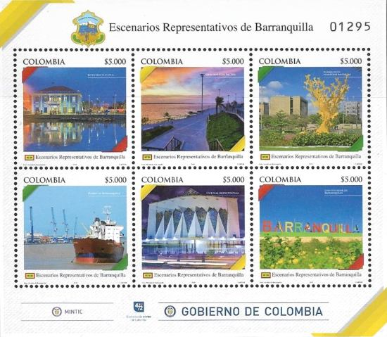 [Cities of Colombia - Barranquilla, Typ ]