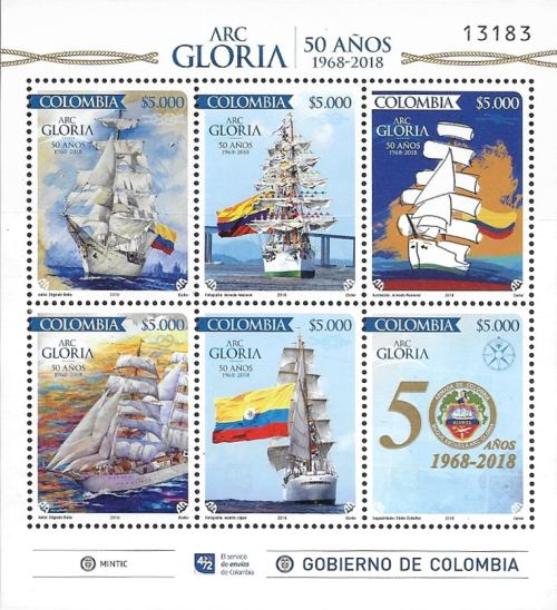[The 50th Anniversary of the ARC Gloria Training Ship, Typ ]