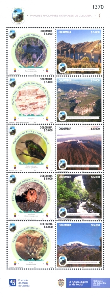 [National Parks of Colombia, Typ ]